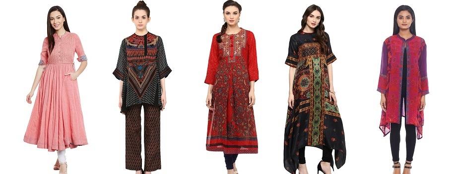 Ritu Kumar Latest Indian Kurtis & Tunics Designs ... - photo #44