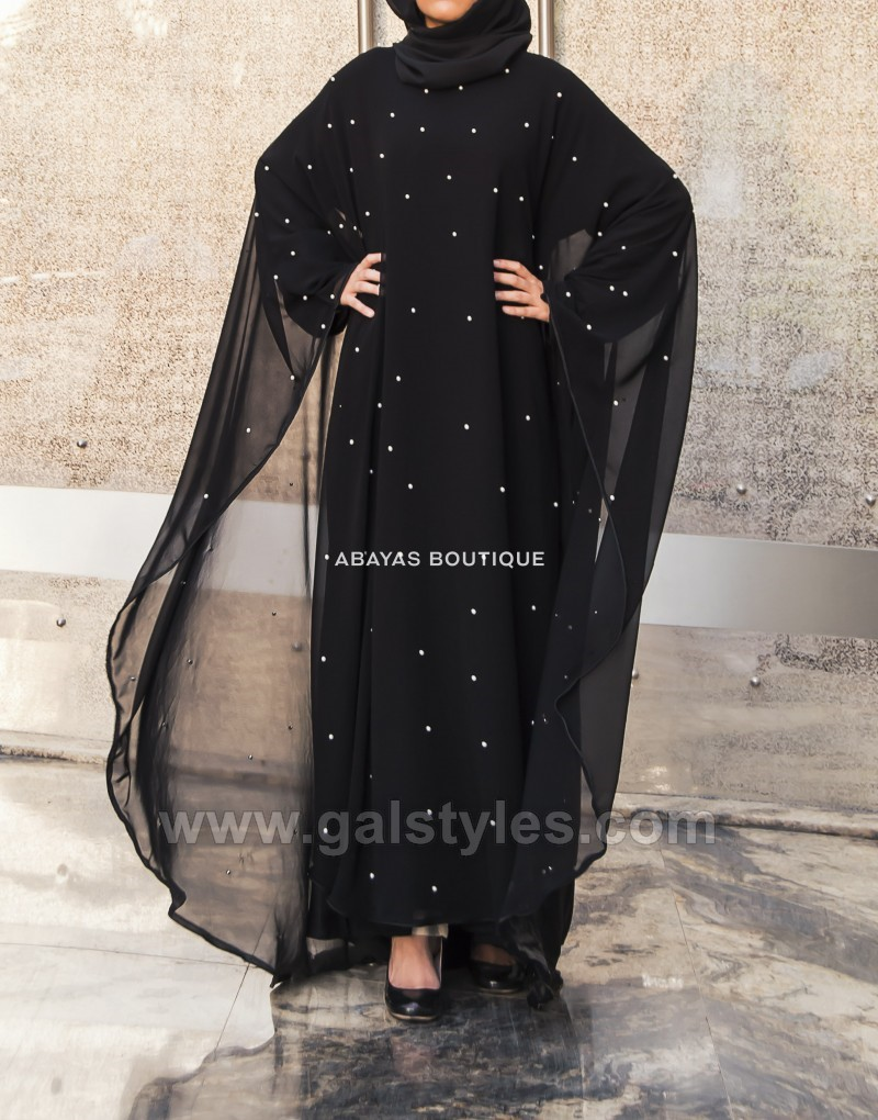 Latest Designer Abaya Gowns Hijab Designs 2019-2020 Collection