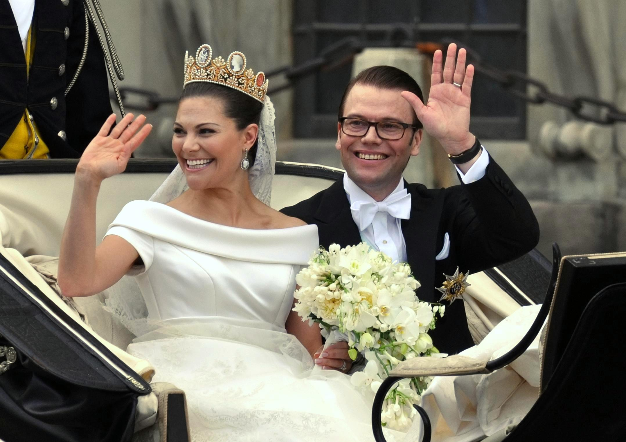 Crown Princess Victoria of Sweden and his husband