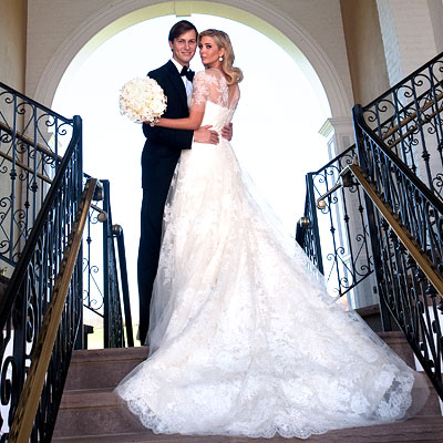 Ivanka Trump wedding gown
