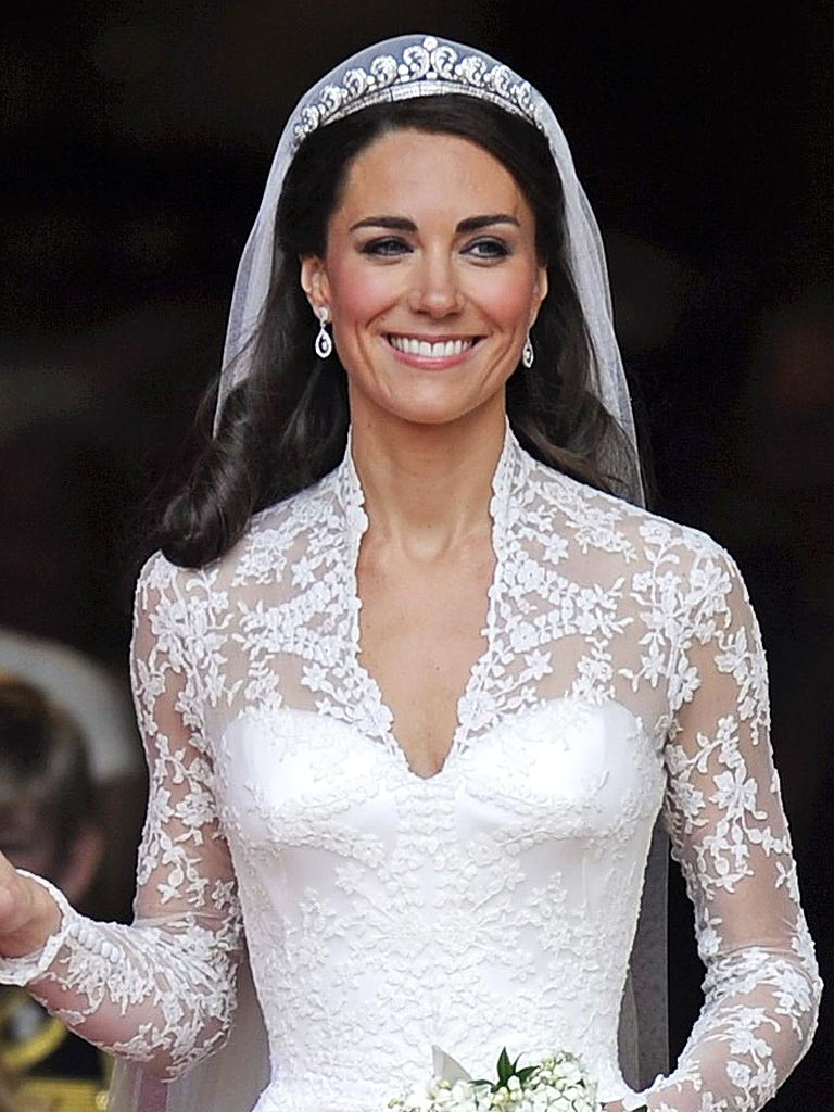 Kate Middleton bridal dress