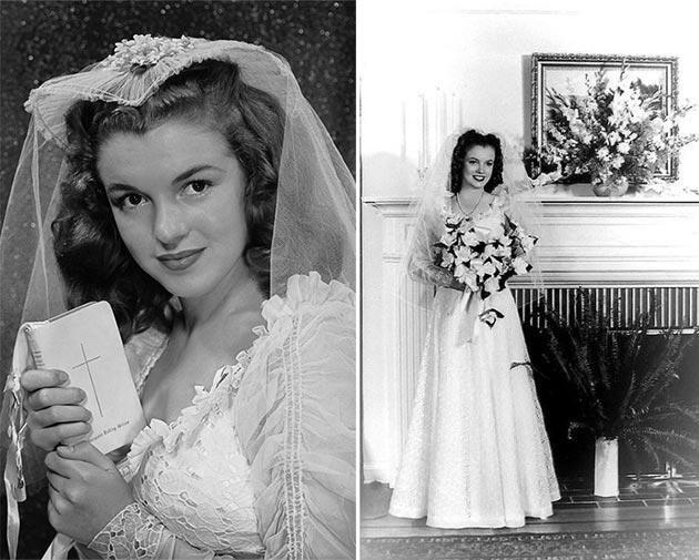 Marilyn Monroe wedding dress