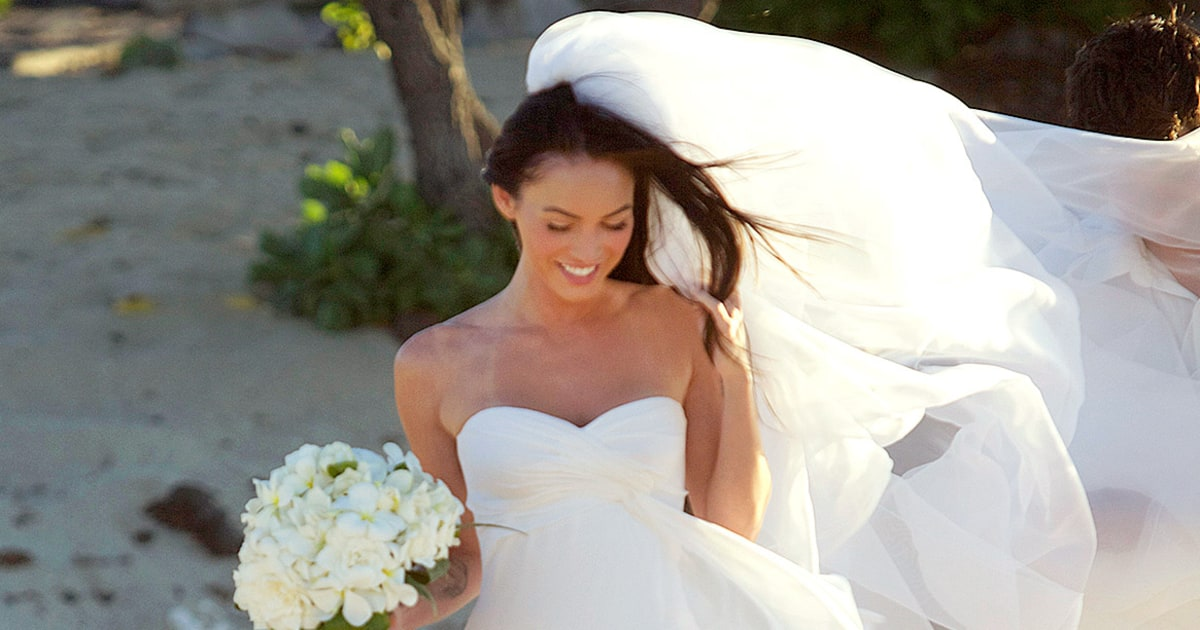 Megan Fox wedding dress