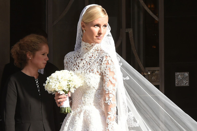 Bride Nicky Hilton Heads To Her Wedding!