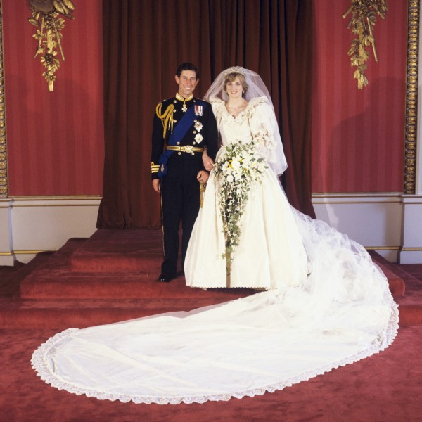lady diana wedding gown