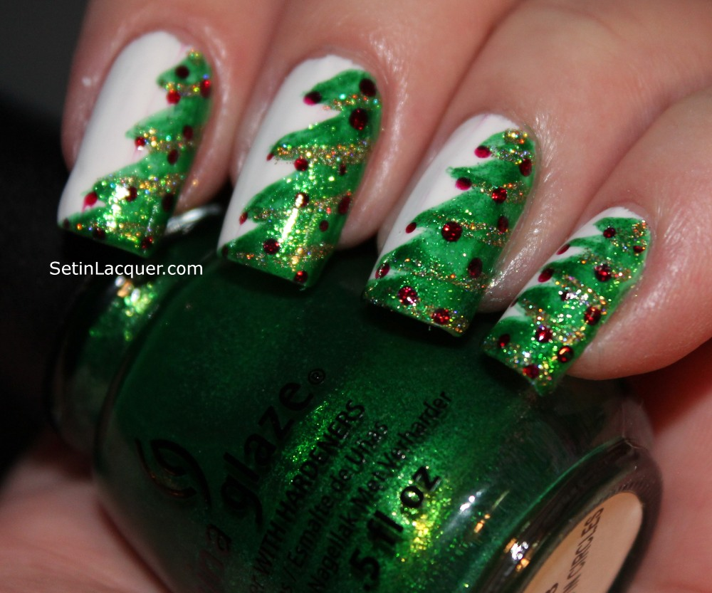 christmas-tree-top-5-best-diy-nail-arts-for-christmas-holiday-season