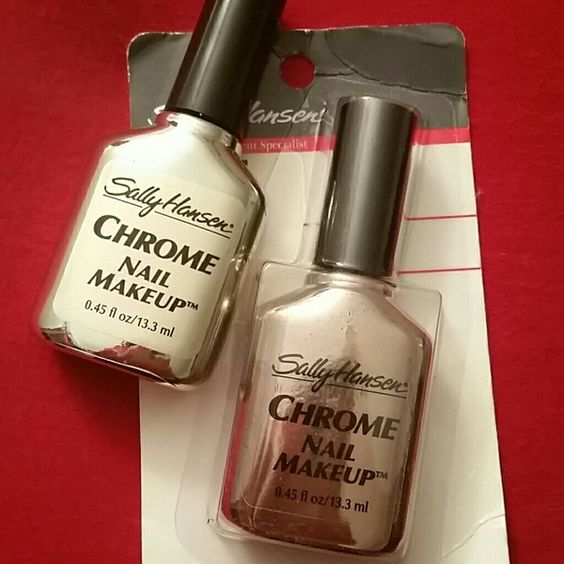 Beautiful Metallic Chrome Nail Art Designs & Tutorial (6)