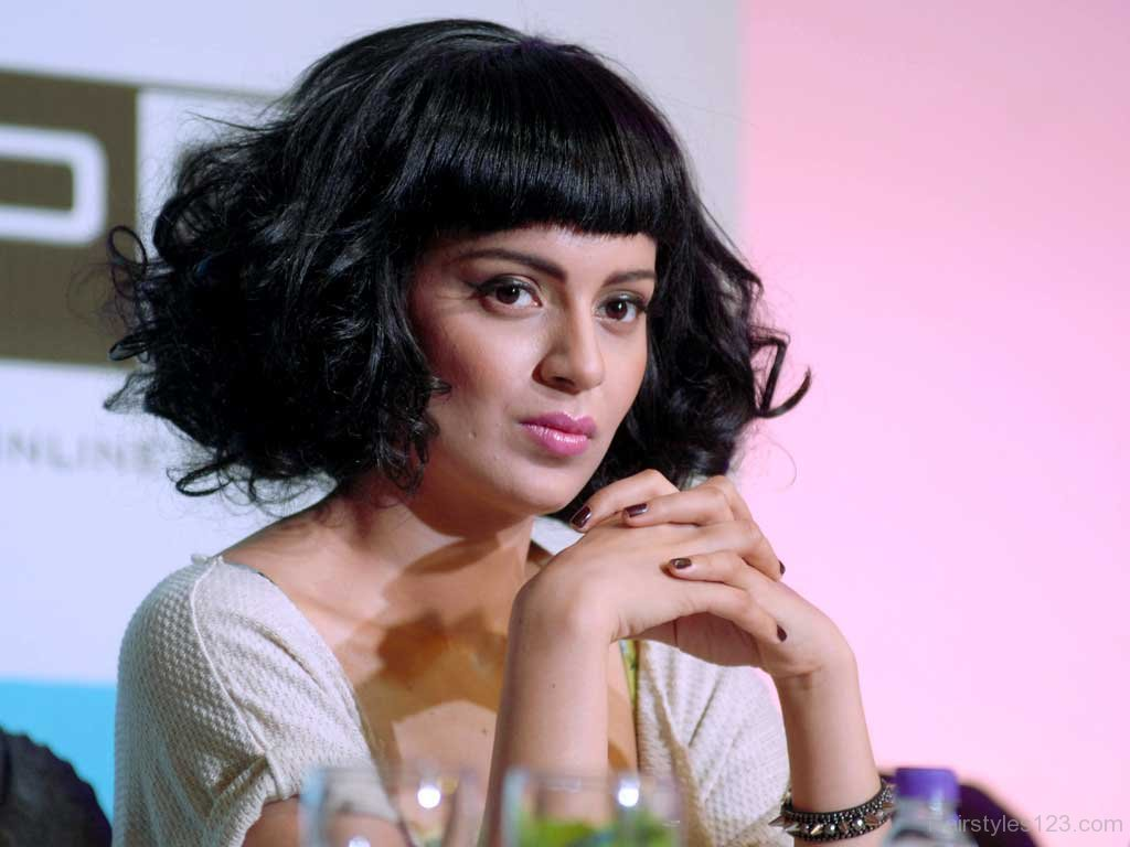 Kangana-Ranaut- Top 10 Famous Indian Celebrity Hairstyle Inspirations (1)