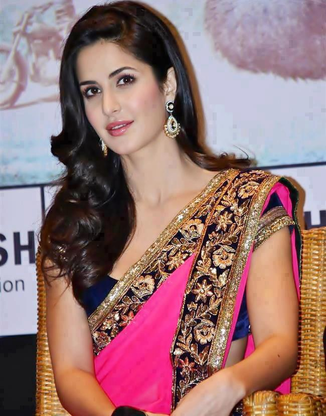 Katrina Kaif- Top 10 Famous Indian Celebrity Hairstyle Inspirations (1)