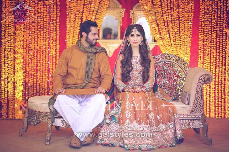 Latest Men Dulha Mehndi Dresses Kurta Shalwar Collection