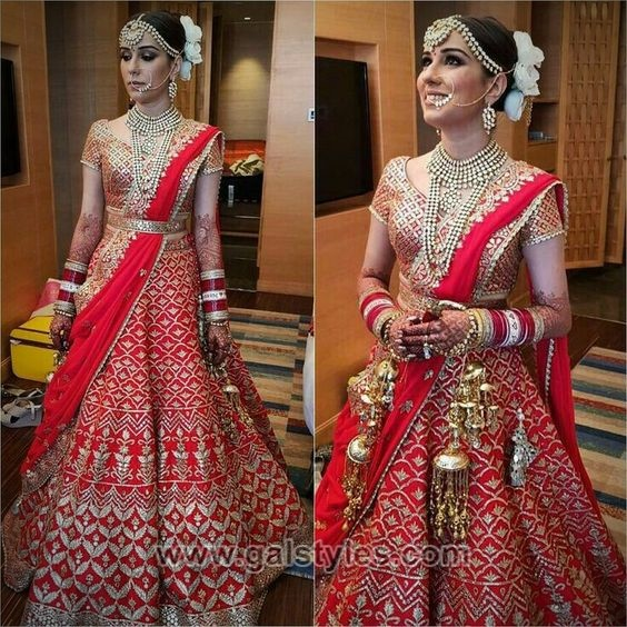 c56cd9515 Latest Indian Bridal Dresses Designs Trends 2019 Collection ...