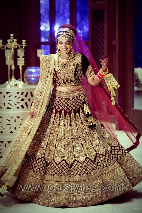fa71d1d60483 Latest Indian Bridal Dresses Designs Trends 2019 Collection ...