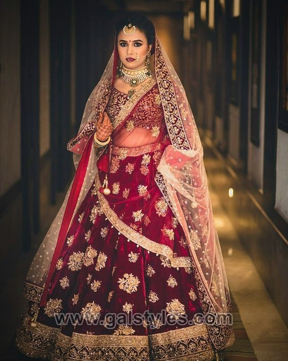 Latest Indian Bridal Dresses Designs Trends 2020 Collection Galstyles Com