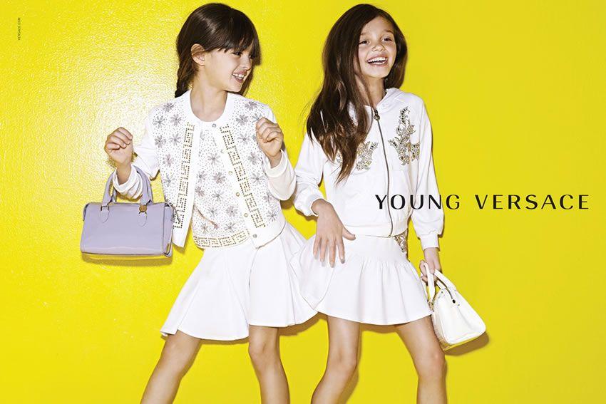 Versace Latest Clothing Men Women Trends for Kids Dresses (1)