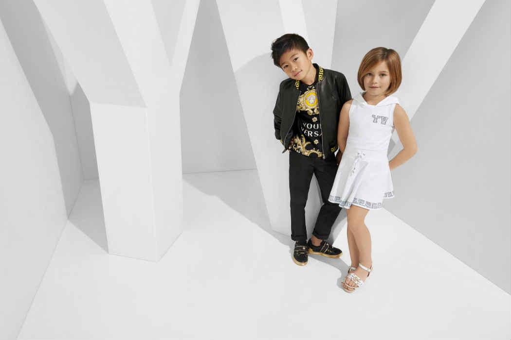 Versace Latest Clothing Men Women Trends for Kids Dresses (2)