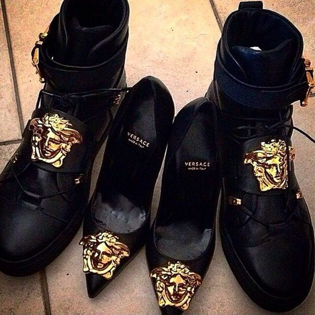 Versace Latest Clothing Men Women Trends for Shoes (2)