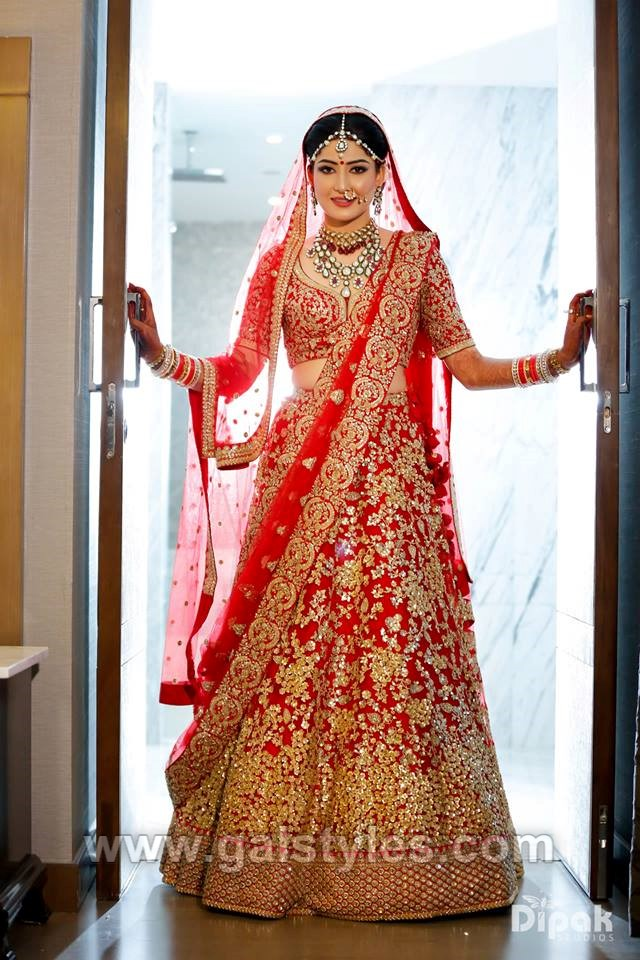 0f8533cc5409 Indian Latest Bridal Lehenga Designs 2018-2019 Party & Wedding Collection
