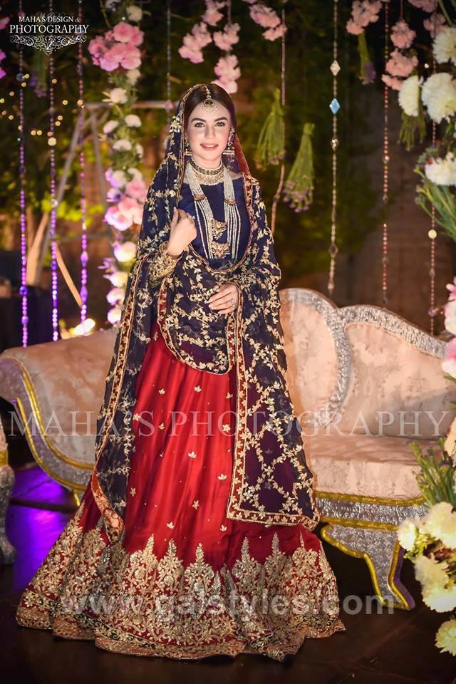 9405500644 Latest Bridal Mehndi Dress Design & Trends Collection 2019-2010 (11) ...