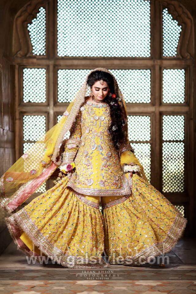 Latest Bridal Mehndi Dress Design \u0026 Trends Collection 2019