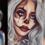 Latest Simple Easy Halloween Makeup Ideas & Looks 2019 to Follow