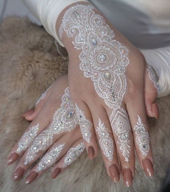 White Henna Designs Tattoo Trends