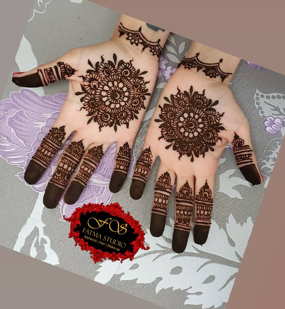 6969d883b ... in every street, in every house all the Muslims would enjoy the holy Eid.  Today we will posted the latest eid mehndi designs for hands and feet.