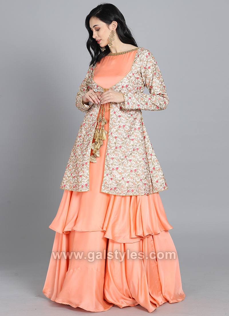 Indian Long Jacket Style Frocks