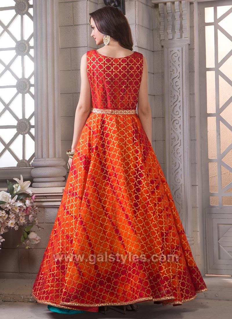 Indian Jacket Style Dresses