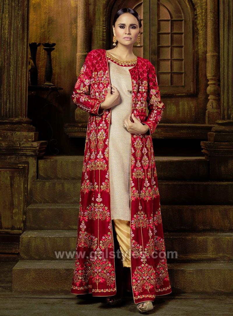 Indian Long Jacket Style Dresses