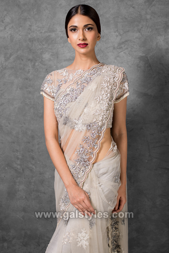 Indian designer saree designs