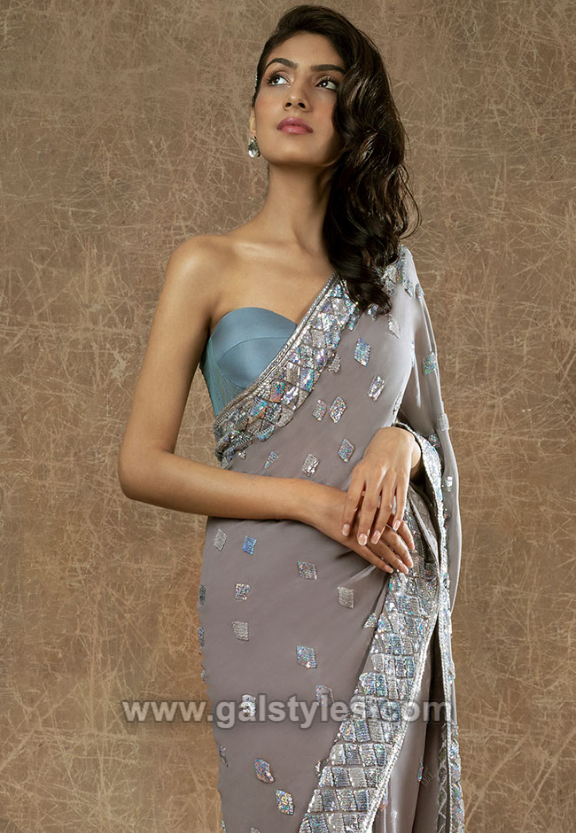 latest saree design