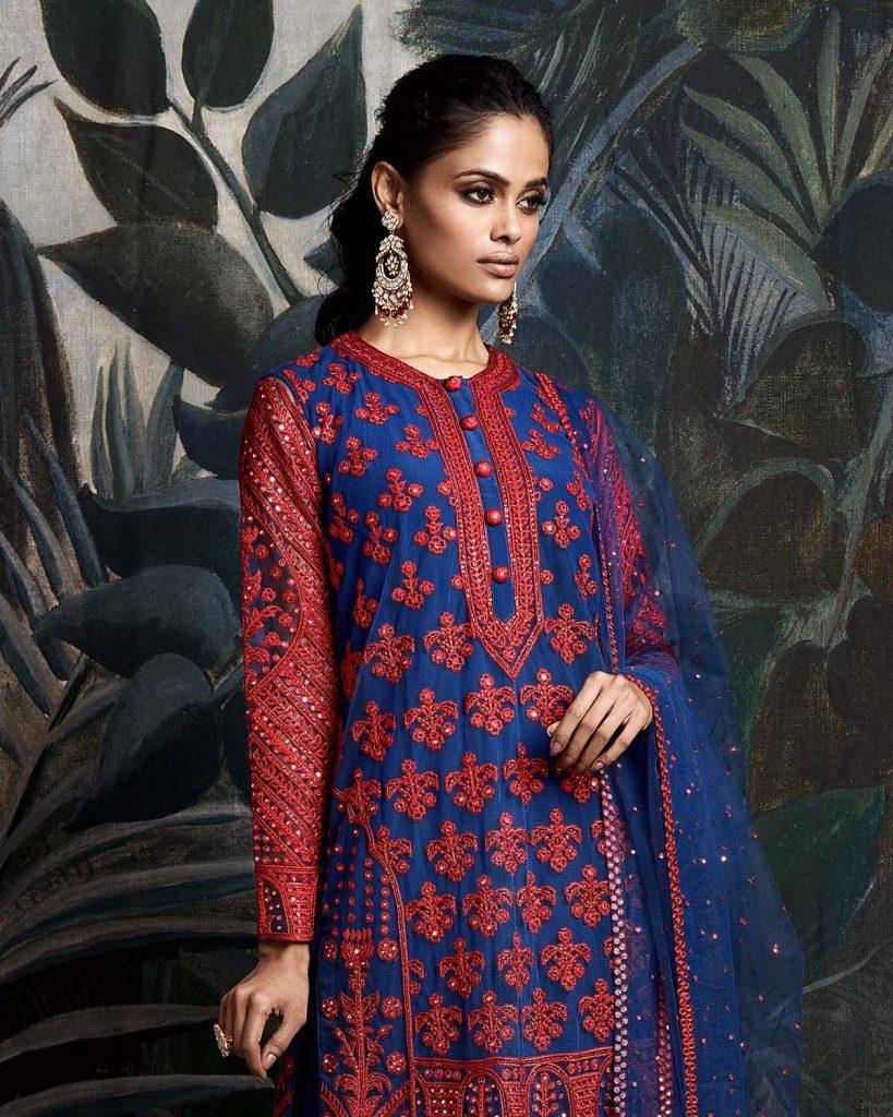 Fancy Party Wear Straight Cut Salwar Kameez Suits